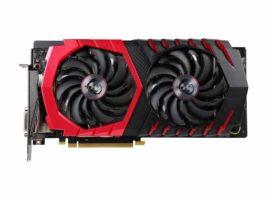 MSI GTX 1060 GPU