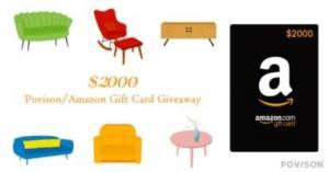 $2000 Povison/Amazon Gift Card
