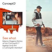 ConceptD CM2 monitor