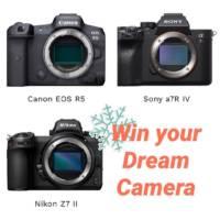 Canon R5, Sony a7R IV, or Nikon Z7 II