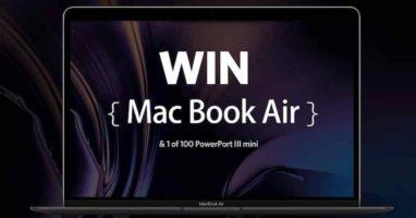 macbook , ipad pro giveaways
