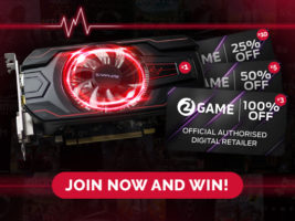Radeon RX 560 4GB GPU or PC Games Giveaway header