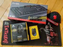 EVGA and Corsair Gaming Accessories