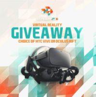 HTC Vive or Oculus Rift Giveaway header