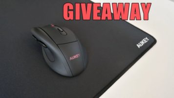 Aukey Wireless Mouse and Mousemat Giveaway header