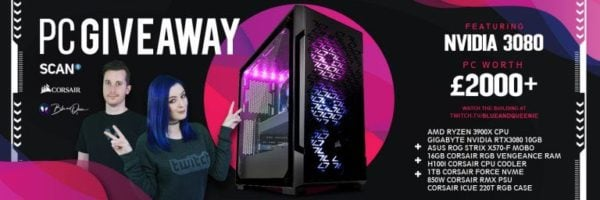 Gaming PC with NVIDIA RTX 3080