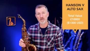 Hanson V Alto Saxophone Setup