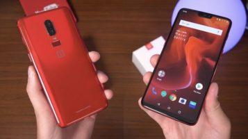 RED OnePlus 6 Smartphone Giveaway header