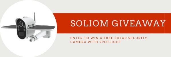Soliom Solar Security Camera