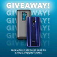 NUU Mobile G3 Smartphone and TUDIA Case