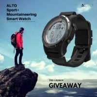 ALTO Sport and Mountaineering Smart Watch