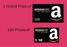 $200 or $10 Amazon Gift Card