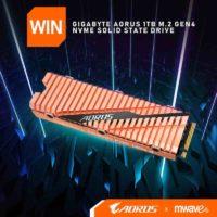 Gigabyte AORUS 1TB M.2 Gen4 NVMe SSD