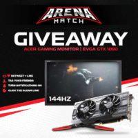 GeForce GTX 1080 GPU or Acer 144Hz Gaming Monitor
