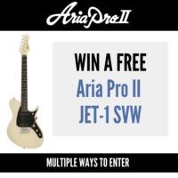 Aria Pro II JET-1 SVW Guitar