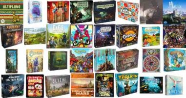 3 Board Games of your Choice
