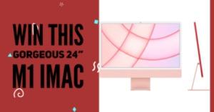 Apple 24-Inch iMac M1 in Pink