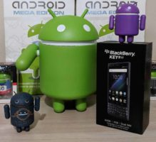 BlackBerry KEY2 LE and Android Figures - Best Of Gleam Giveaways
