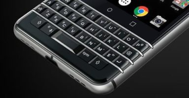 BlackBerry KEYone Smartphone Giveaway header