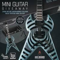 Pelham Blue Vertigo Mini Guitar