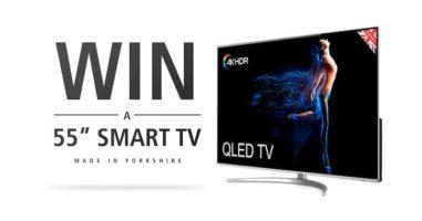55-Inch 4K HDR QLED Smart TV