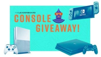 Nintendo Switch, Xbox One, or Playstation 4 Giveaway header