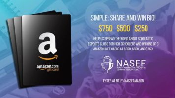 $750, $500 or $250 Amazon Gift Card Giveaway header