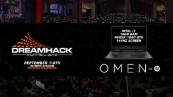 OMEN by HP laptop Giveaway header