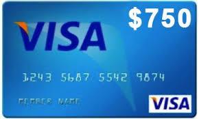 $750 Amazon Gift Card