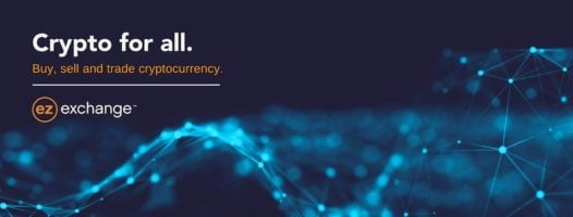 25000 EZ Exchange Tokens Giveaway header