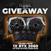 Nvidia RTX 2060 and Rune II Keys
