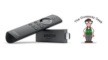Amazon Fire TV Stick Giveaway header