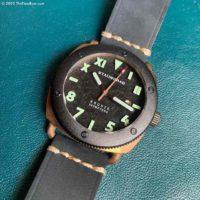 Stalingrad Kursk diver's watch