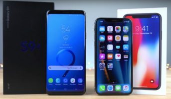 iPhone X or Galaxy S9 Plus Giveaway header