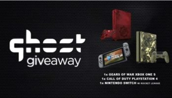 Xbox One, Playstation 4 & Nintendo Switch Giveaway header