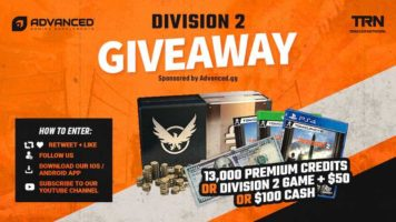 The Division 2 or $100 Cash
