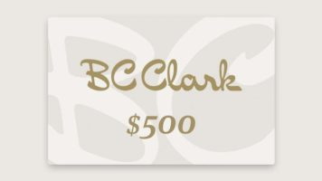 $500 BC Clark Gift Card Giveaway