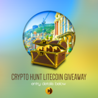 Crypto Hunt 2 Litecoins Giveaway header