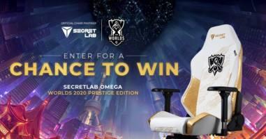 Secretlab OMEGA Worlds 2020 Prestige Edition