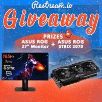 ASUS ROG Gaming Monitor and GeForce RTX 2070 GPU
