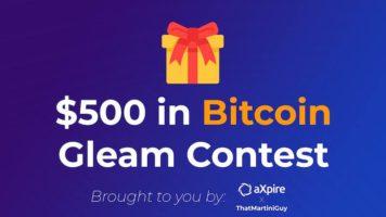 $500 in Bitcoin