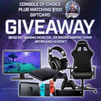 Console of Your Choice, Gaming Chair, and More