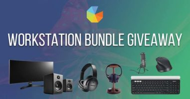 Desktop PC equipment Giveaway header