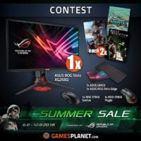 ASUS Gaming Hardware and Top Games Giveaway header
