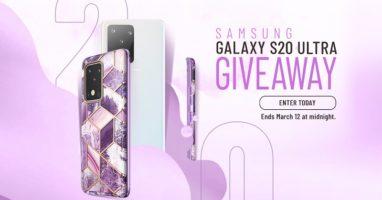 Galaxy S20 Ultra and i-Blason Cases