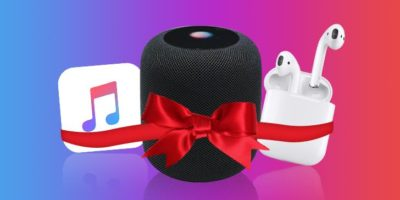 Apple AirPods and HomePod