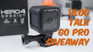 GoPro Hero4 Session Camera Giveaway header