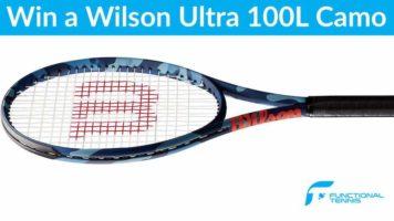 Wilson Ultra 100L CAMO Racket