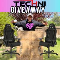 Black Echo Series Gaming Chair