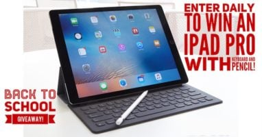 Apple iPad Pro 10.5 with Accessories Giveaway header
